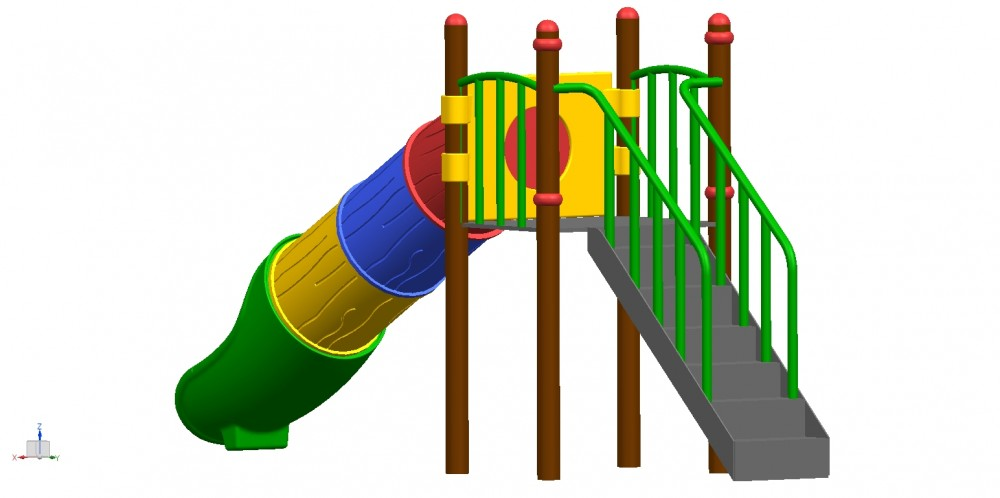 Fun and Learning With Swing and Slides Sets