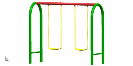 Best 2 Seater U Swing - Swings Manufacturer in Delhi NCR