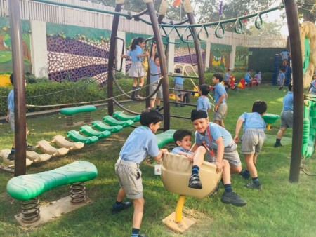 Animal Riders Pre-School Outdoor Play Equipments Delhi NCR