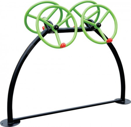 Best Arm & Shoulder Wheel - Outdoor Open Gym Equipments Manufacturer in Delhi NCR