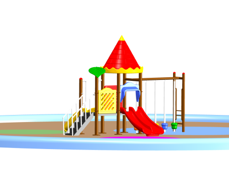 Best Castle Play Max - School Outdoor Play Equipments Manufacturer in Delhi NCR