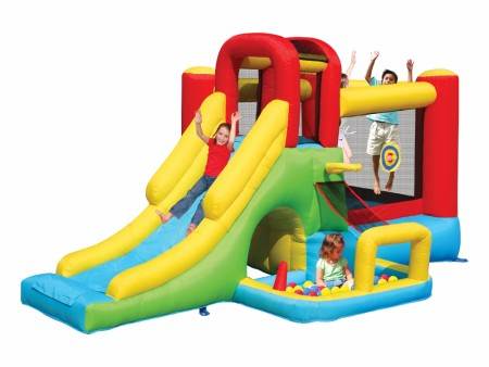 Best Clown Hoop Bouncer - Inflatables Manufacturer in Delhi NCR
