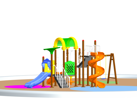 Best Fun Playcentre Maxi - School Outdoor Play Equipments Manufacturer in Delhi NCR