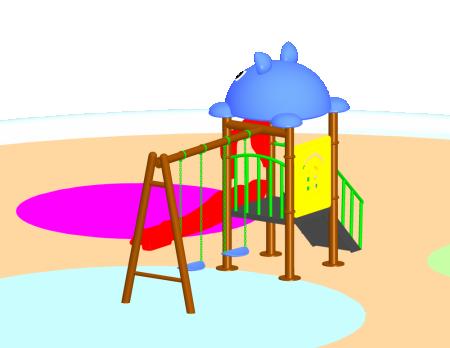 Best Fun Swing N Slide - School Outdoor Play Equipments Manufacturer in Delhi NCR