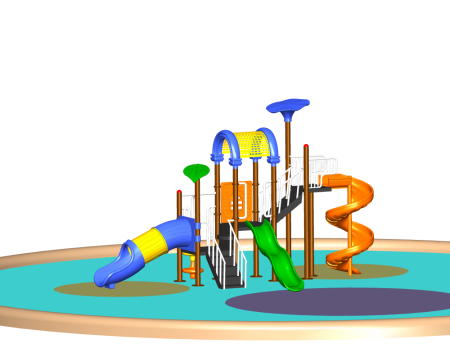 Best Hop N Slide Playcentre - School Outdoor Play Equipments Manufacturer in Delhi NCR