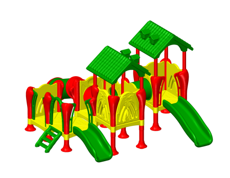 Best Jumbo Kids Castle - Pre-School Outdoor Play Equipments Manufacturer in Delhi NCR