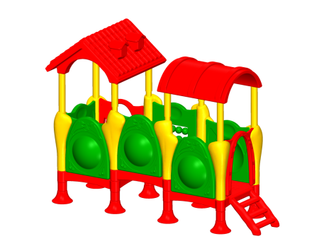 Best Jumbo Playcentre - Pre-School Outdoor Play Equipments Manufacturer in Delhi NCR