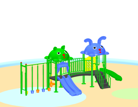 Best Jungle Playcentre Sr.  - School Outdoor Play EquipmentsManufacturer in Delhi NCR