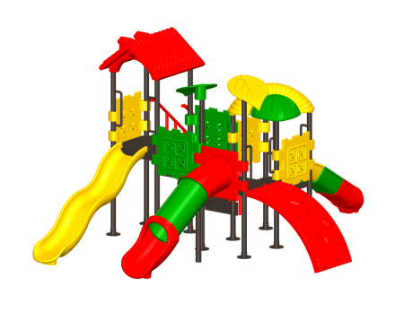 Best Kids Tree Play House - Pre-School Outdoor Play Equipments Manufacturer in Delhi NCR