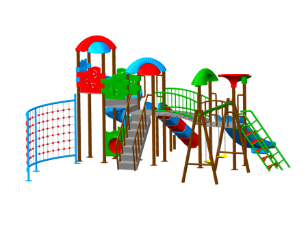 Best Multi Max Playzone - School Outdoor Play Equipments Manufacturer in Delhi NCR
