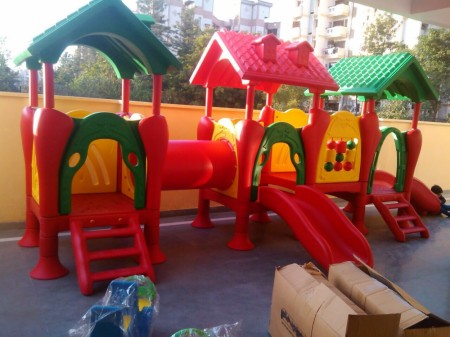 Pre-School Outdoor Play Equipments Slides Delhi NCR