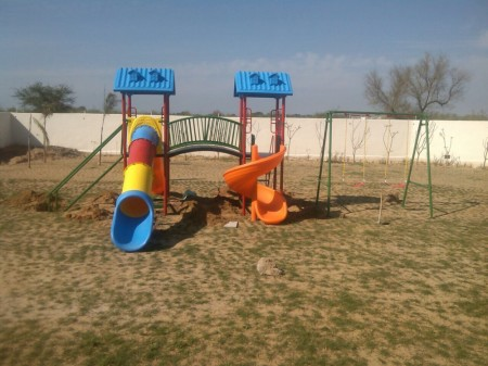 School Outdoor Play Equipments Inflatables Delhi NCR