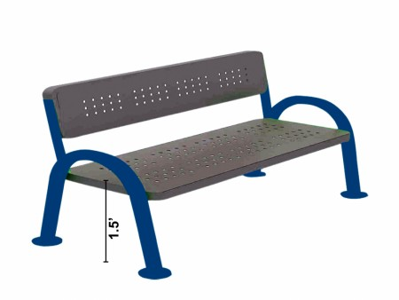Park Bench W Handle  Delhi NCR