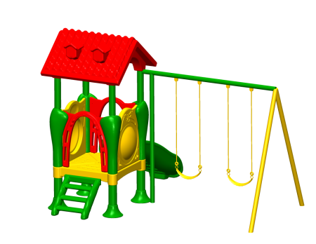 Best Slide N Glide Playcentre - Pre-School Outdoor Play Equipments Manufacturer in Delhi NCR