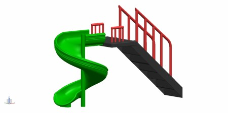 Best Spiral Slide - Slides Manufacturer in Delhi NCR