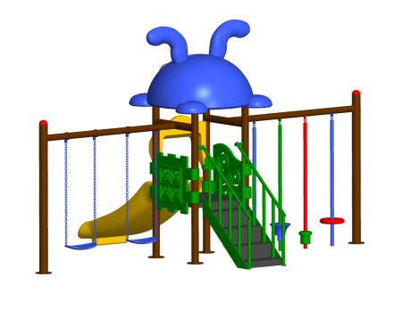 Best Step N Swing Maxi Centre - School Outdoor Play Equipments Manufacturer in Delhi NCR