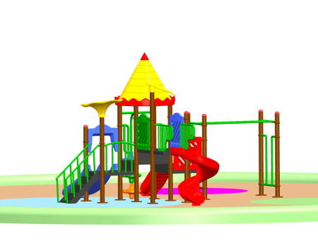 Best Super Castle Palace - School Outdoor Play Equipments Manufacturer in Delhi NCR