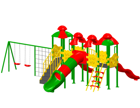 Best Town House Maxi - School Outdoor Play Equipments Manufacturer in Delhi NCR