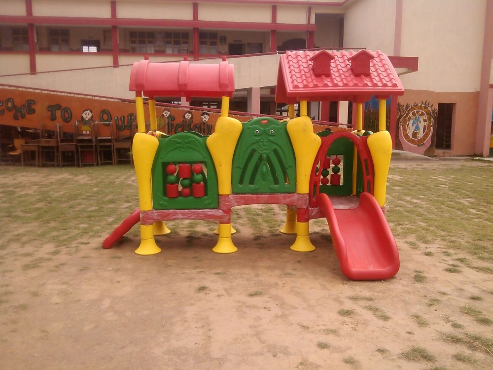Pre School playcentre in playground