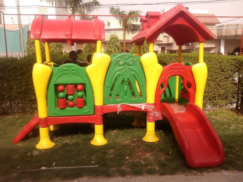 A colourful playcentre in playschool