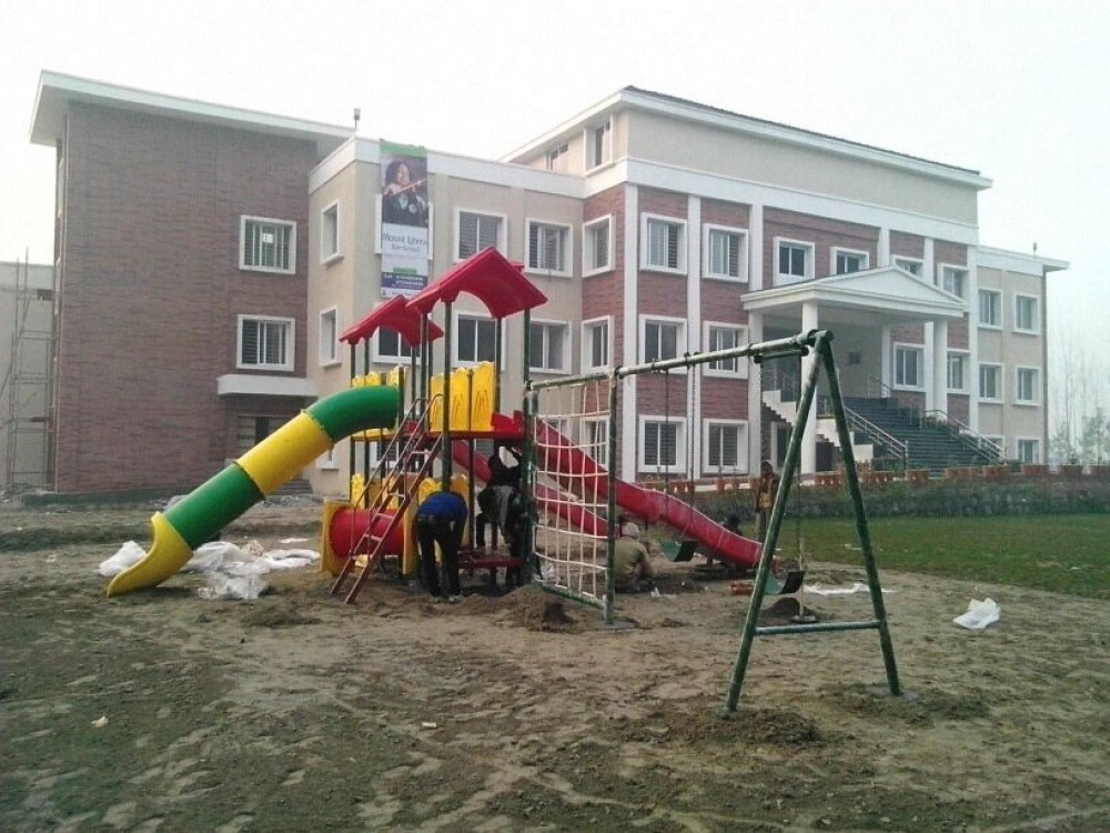 School playground play equipment