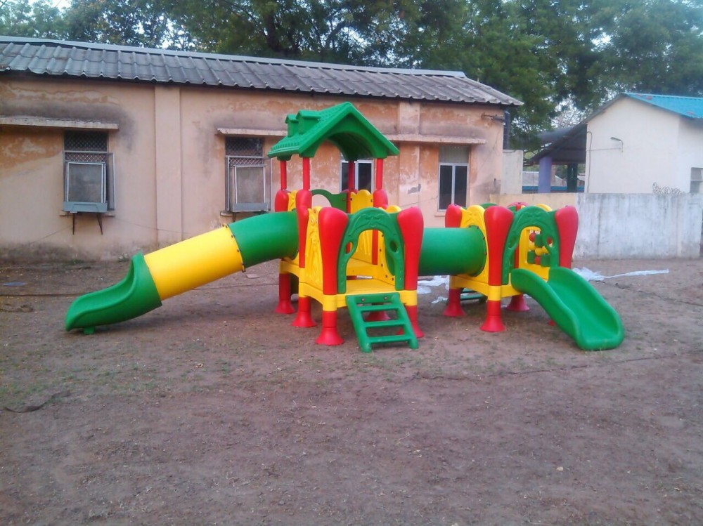Playcentre installed in Playground