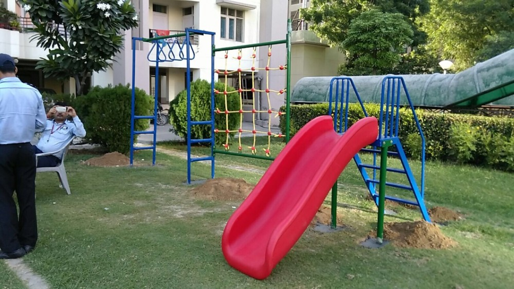 Slides and other Equipments for Parks