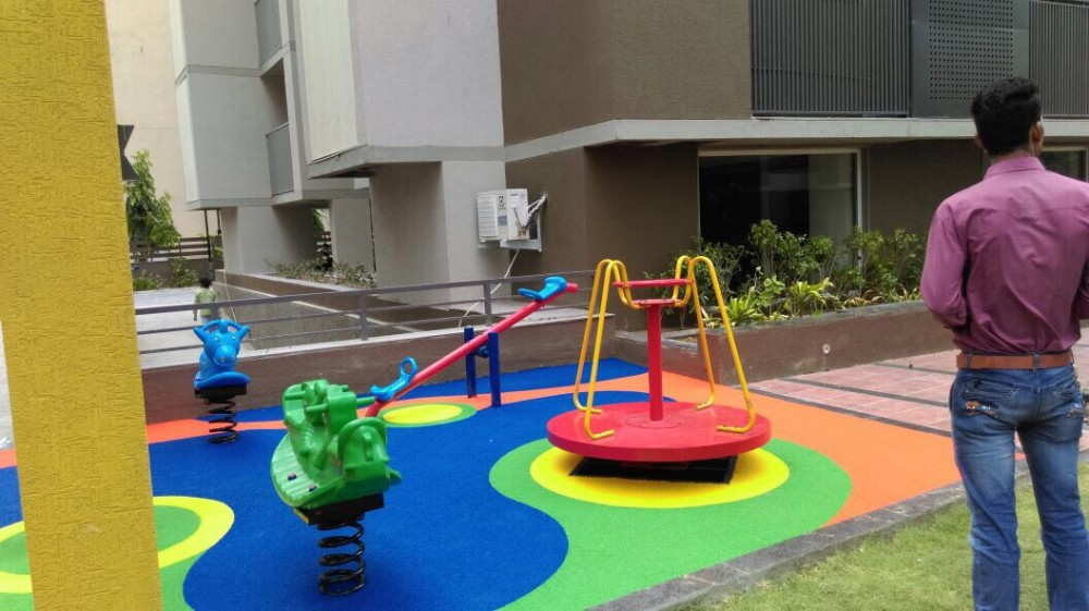 Play area with SeeSaw