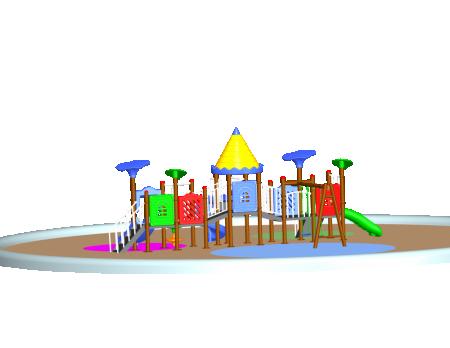 Castle Adventure Centre - School Outdoor Play Equipments in Delhi NCR