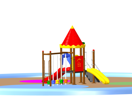 Castle Play Max - School Outdoor Play Equipments in Delhi NCR