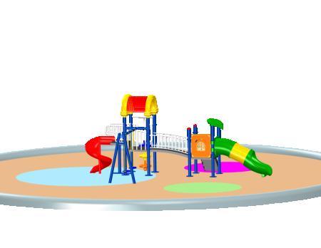 Climb N Swing Playcentre - School Outdoor Play Equipments in Delhi NCR