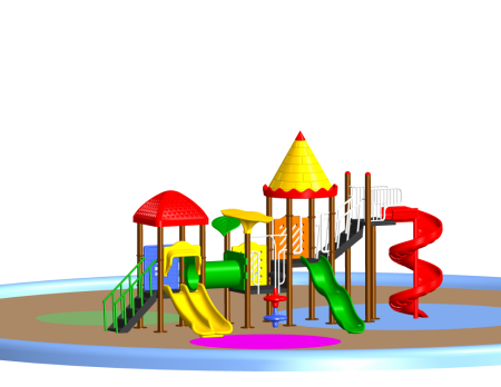 Dream Castle Playcentre - School Outdoor Play Equipments in Delhi NCR