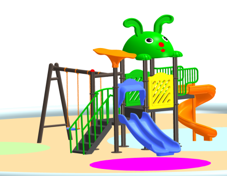 Fun N Slide Playcentre - School Outdoor Play Equipments in Delhi NCR