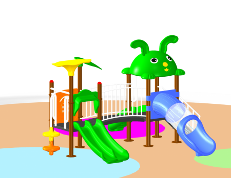 Jungle Playcentre - School Outdoor Play Equipments in Delhi NCR