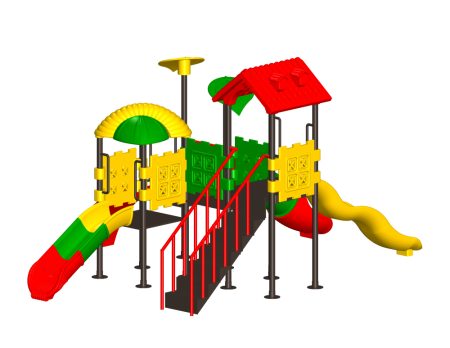 Kids Tree Play House - Pre-School Outdoor Play Equipments in Delhi NCR