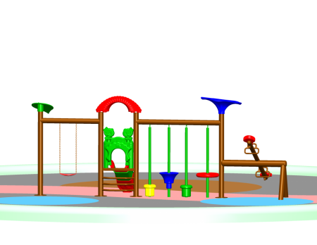 Multi Activity Maxi Centre - School Outdoor Play Equipments in Delhi NCR