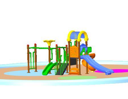 Parkland Adventure Centre Jr. - School Outdoor Play Equipments in Delhi NCR