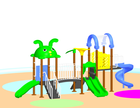 Parkland Adventure Centre - School Outdoor Play Equipments in Delhi NCR