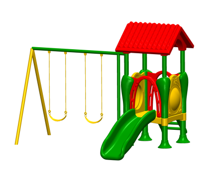 Slide N Glide Playcentre - Pre-School Outdoor Play Equipments in Delhi NCR