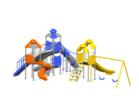 Space Ship Playzone - School Outdoor Play Equipments in Delhi NCR