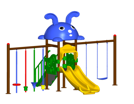 Step N Swing Maxi Centre - School Outdoor Play Equipments in Delhi NCR