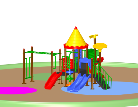 Super Castle Palace - School Outdoor Play Equipments in Delhi NCR