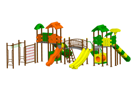 Super Max Playzone - School Outdoor Play Equipments in Delhi NCR