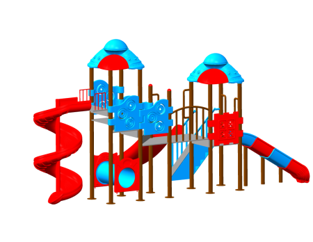 Super Space Playzone - School Outdoor Play Equipments in Delhi NCR