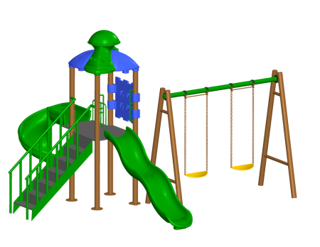 Super Swing Playcentre - Pre-School Outdoor Play Equipments in Delhi NCR