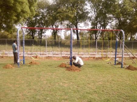 Swings in Delhi NCR
