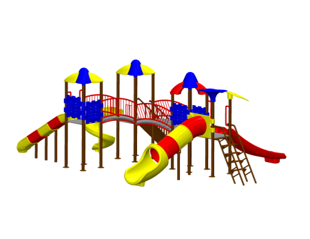 Tri Dump Playzone - School Outdoor Play Equipments in Delhi NCR