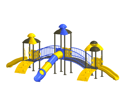 Tri House Maxi Playcentre - Pre-School Outdoor Play Equipments in Delhi NCR