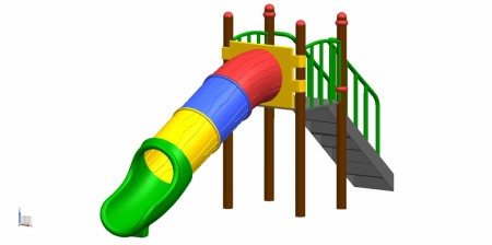 Tube Slide - Slides in Delhi NCR