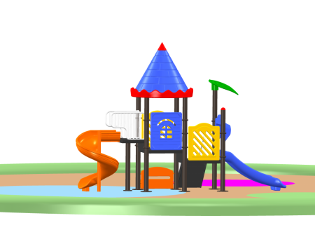 Ultra Castle Palace - School Outdoor Play Equipments in Delhi NCR